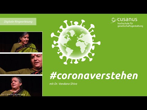 Dr. Vandana Shiva | Political Economy of the Corona Crisis: Global Perspectives