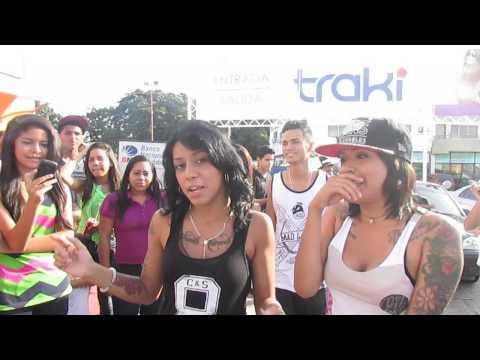 FreestyleEnCdadTraki CIUDAD BOLIVAR - Mestiza Mc - Neblina Mc.