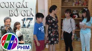 THVL | Con gái bố già - Tập 17[3]: Thạch Anh bị Kim Cương xô ngã vì dám ức hiếp Ruby