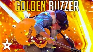 Father and Son Get GOLDEN BUZZER on Britain's Got Talent | Got Talent Global
