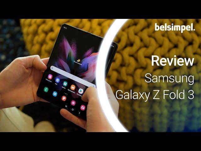 Belsimpel-productvideo voor de Samsung Galaxy Z Fold 3 256GB Groen