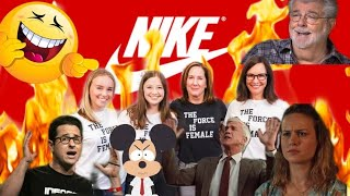 The Force Isn't Female? Kathleen Kennedy Throws NIKE Under The Bus!