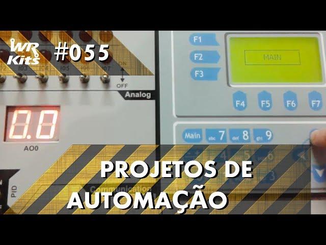 AUTOMAÇÃO DE PORTA COM CLP ALTUS DUO | Projetos de Automação #055