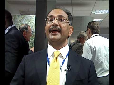 Dr. Rajiv Kumar Gupta presented a case from India on the role of water technology in development