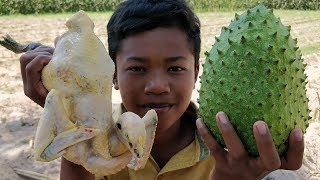 Delicious Roasted Chicken With Soursop / Chicken Cooking With Soursop