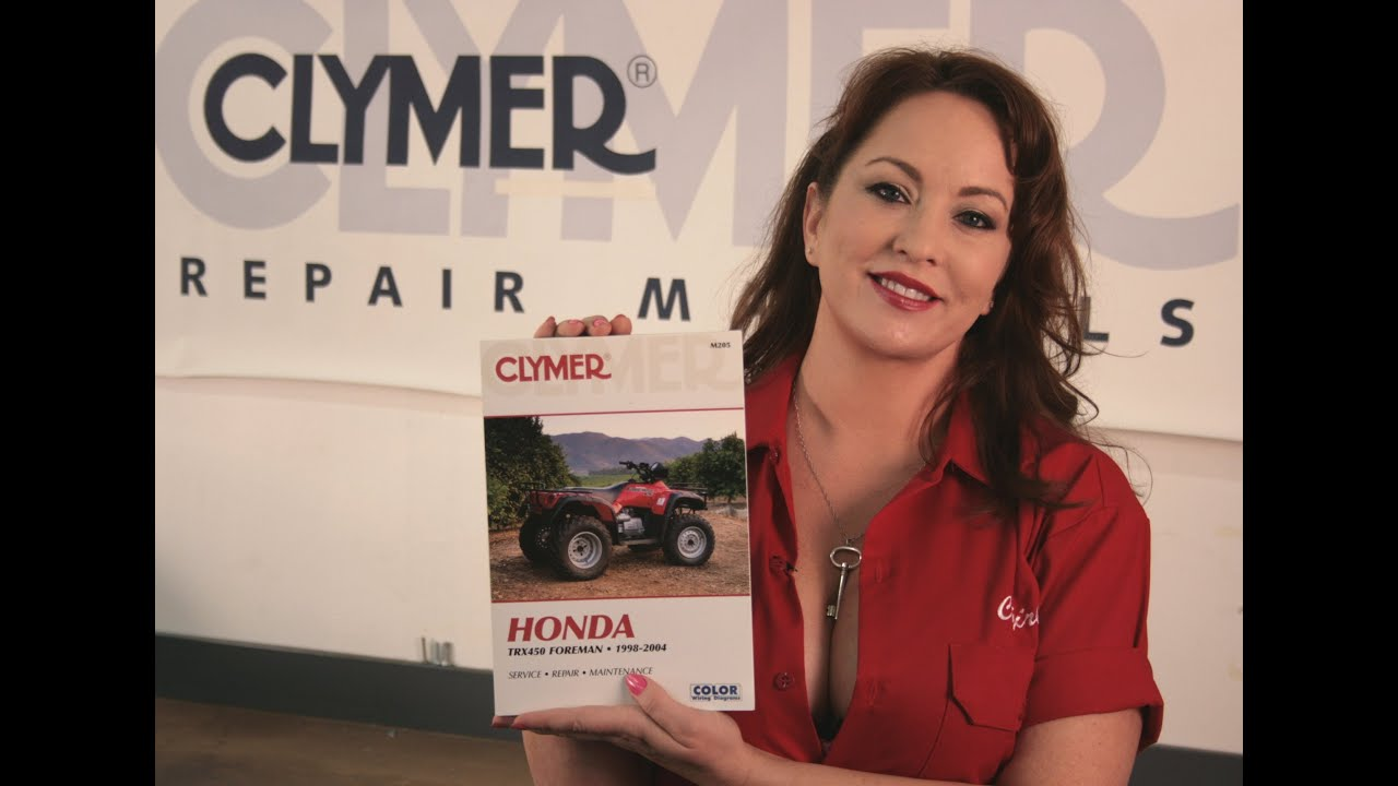 Clymer Manuals Honda Trx450 Foreman Shop Service Repair