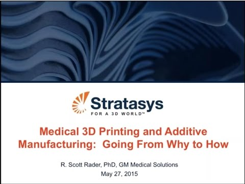 Medical 3D Printing and Additive Manufacturing