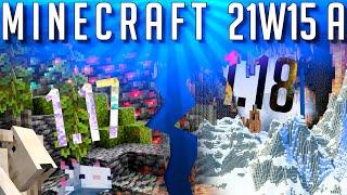 La 1.17 Séparé en 2 et Minecraft Snapshot 21w15a