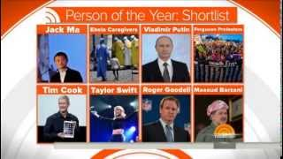 Finalists for 2014 Person of the Year