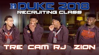 EXCLUSIVE interview with Duke's 2018 top recruiting class