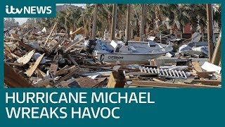 Hurricane Michael leaves 13 dead in Florida | ITV News