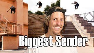 """JAWS"" The Biggest Sender in Skateboarding   Skate Stories 7"