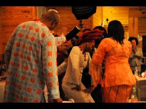 Nigerian Traditional Money Dance