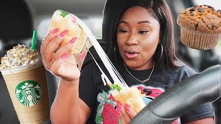 I ONLY ATE STARBUCKS FOOD FOR 24 HOURS CHALLENGE!
