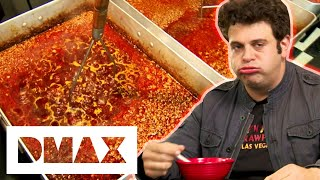 Adam Takes One Of The Oldest Food Challenges In America | Man V Food