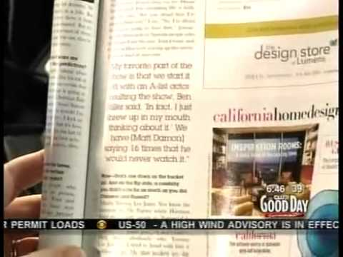 Mark S. Allen talks about his Sactown story on Good Day