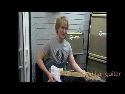 Egnater Rebel 30 Combo demo by Josh Wibaut: Testing123reviews @ Guitar Guitar Birmingham