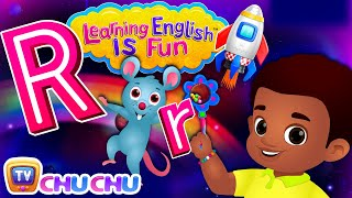 ChuChu TV Learning English Is Fun™   Alphabet R Song   Phonics & Words For Preschool Children
