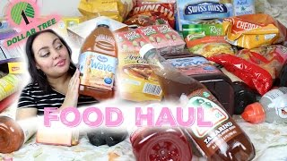Dollar Tree FOOD Haul =)|REQUESTED