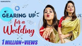Jabardasth anchor Anasuya gearing up for wedding, watch it..