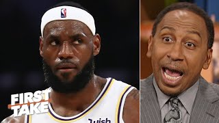 LeBron and Russell Westbrook have the most pressure in the NBA - Stephen A. | First Take