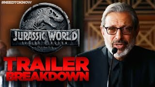 Jurassic World Fallen Kingdom TRAILER Breakdown - WHAT YOU MISSED! #NeedtoKnow