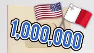 1,000,000 SUBSCRIBERS SPECIAL - BIG ANNOUNCEMENT!