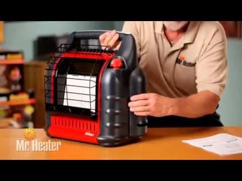 Mr Heater Big Buddy Propane Heater Youtube