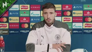 Man City are an obvious candidate for the UCL!   Man City v Porto   Ruben Dias press conference