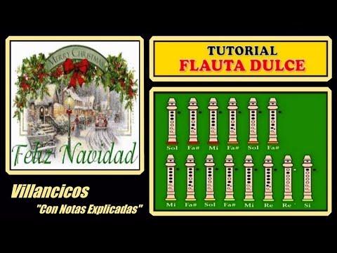 Feliz Navidad en Flauta