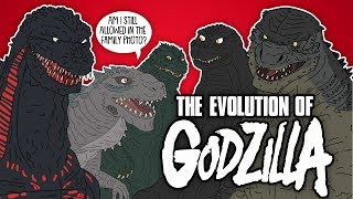 The Evolution Of Godzilla (Animated)