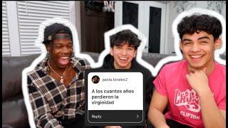 SPANISH Q&A WITH ALEJANDRO ROSARIO & ROSHAUN DIAH