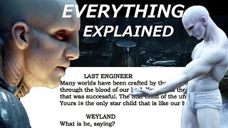 Prometheus Script Reveals TRUTH about Engineers, Black Goo and Deacon