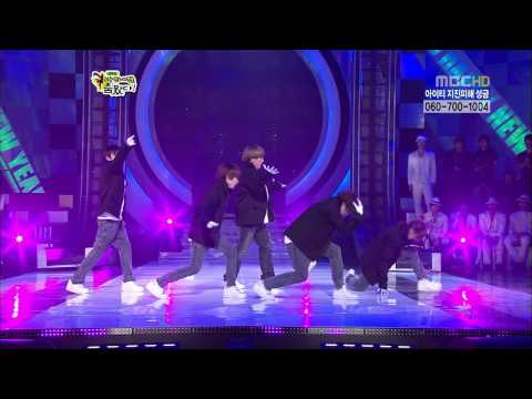 100214 MBC Star Dance Battle HD - Super Junior dance remix.avi