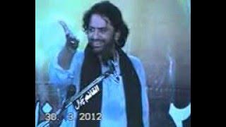 Allama Nasir Abbas shaheed biyan  Rooh ullah Best majlis 2013