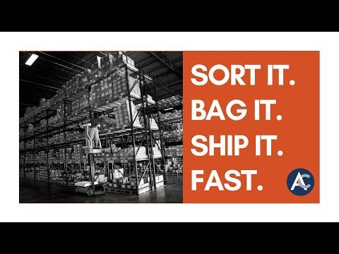SORT BAG SHIP FAST