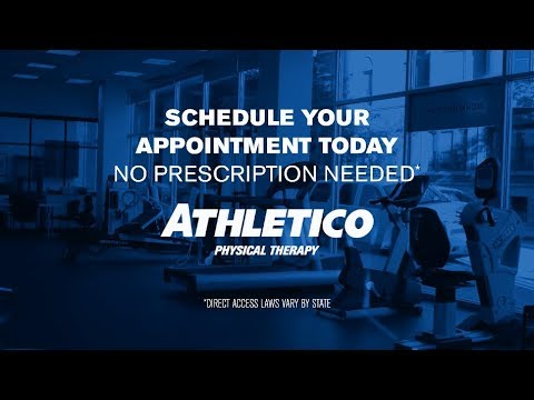 Dealing with aches and pains? Come straight to Athletico. Schedule an appointment today, no prescription needed.
