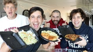 MALL FOOD MUKBANG (NOODLES AND SANDWICHES!)