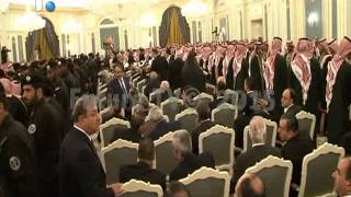 وفد لبناني زار الرياض بدعوة من الرئيس الحريري لتقديم العزاء بالملك عبدالله