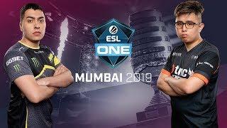 Dota2 - TNC Predator vs NAVI - ESL One Mumbai - Fase de Grupos Dia 2 - Juego 2