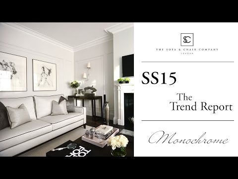 2015 Interior Design Trend Report - Monochrome