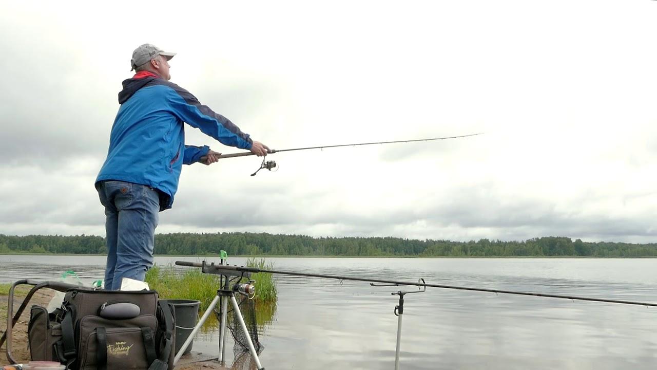 Рыбалка на пяловском водохранилище