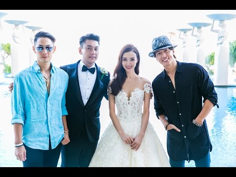 Celebrity Ken Chu of F4 Meteor Garden and Actress Wife Han Wen Wen Tied Their Knot at Mulia Bali