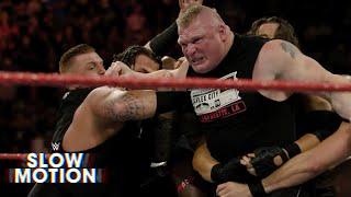 Brock Lesnar – Samoa Joe In Slow Motion, Attitude Era Star Welcomes Child, RAW Star Teases Return