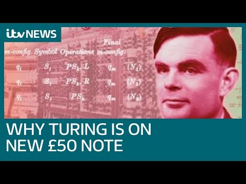 Code breaking computer scientist Alan Turing to be celebrated on new £50 note | ITV News