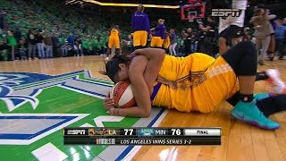 AMAZING ENDING to the 2016 WNBA Finals!!!