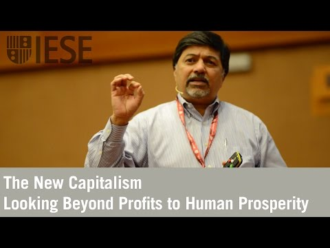 The New Capitalism: Looking Beyond Profits to Human Prosperity