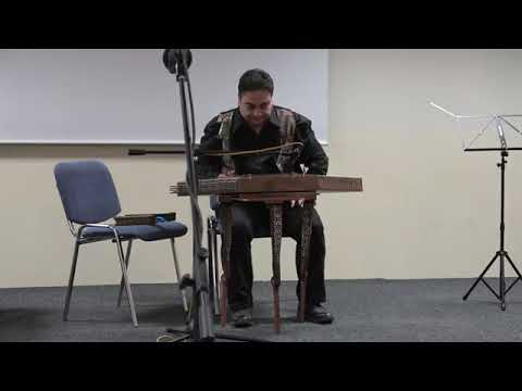 Mehdi Siadat - Improvisation on Santur by Mehdi Siadat in Slovakia 2017