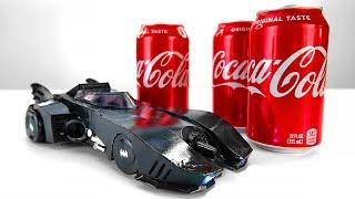 DIY Batmobile Model From Soda Cans