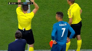 When Cristiano Ronaldo Substituted & Shocked Messi